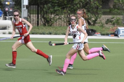 Field hockey defeats St. Andrew's on renovated Finnegan Field