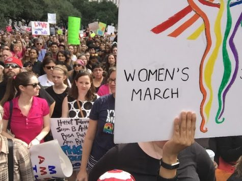 Marchers join worldwide movement for women's rights