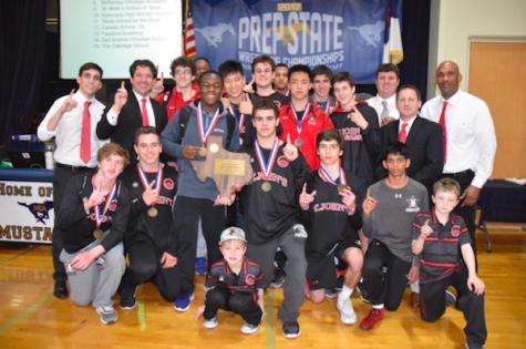 Wrestlers win state championship, make school history