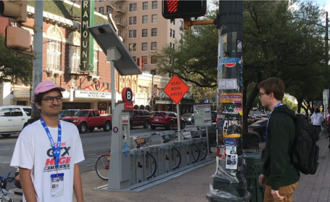 Senior videographer attends South by Southwest Film Festival