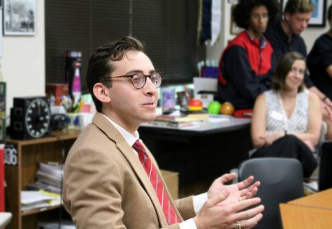 Pulitzer finalist Evan Mintz ('04) visits the Review