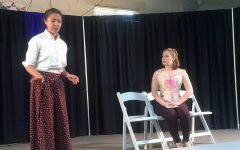Day in the Life of an ISAS Arts Festival actress