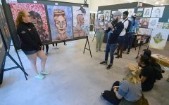 ISAS Spotlight: From gouache to clay, visual artists try new mediums