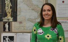 Latin teacher Mindy Wolfrom leaves her mark