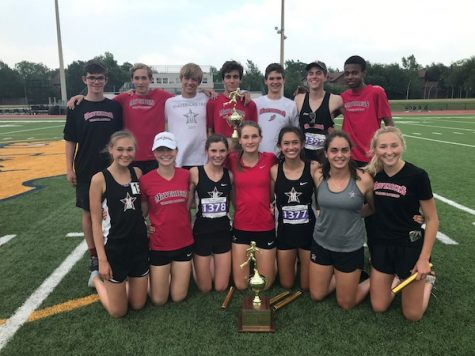 Track teams take second at SPC