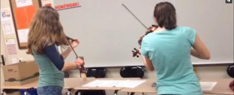 ISAS Spotlight: Albuquerque Academy Violinists