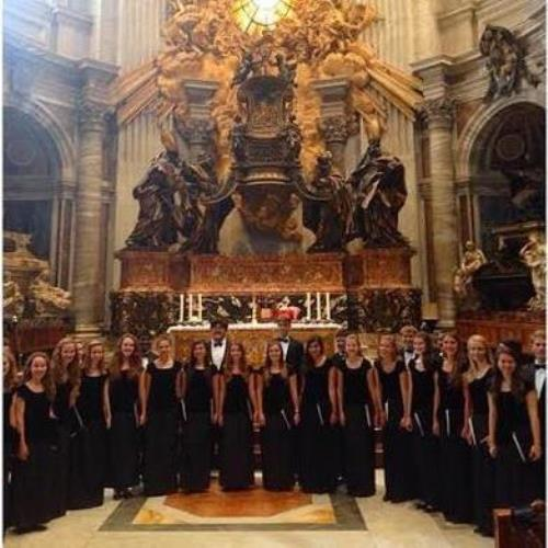 When in Rome: Kantorei tours Italy, performs at Vatican