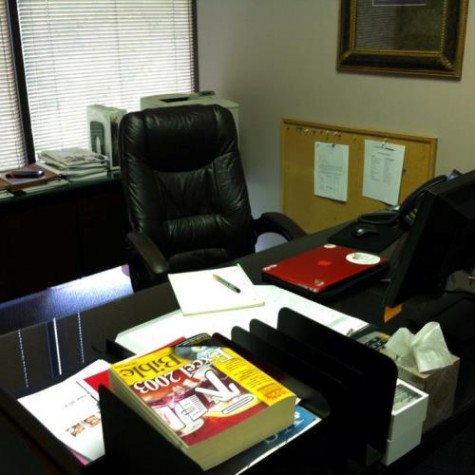 Lillian had her own office and desk at W. J. Alexander and Associates. (Courtesy photo)