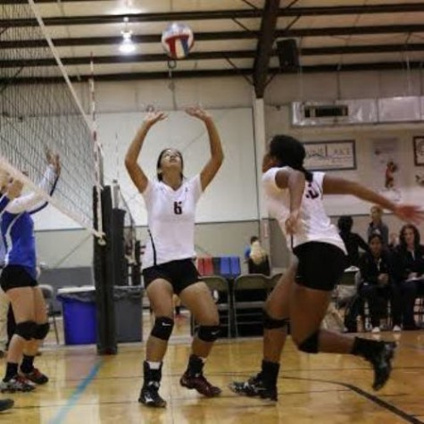 Girls' volleyball storms Texas Tornados Tournament