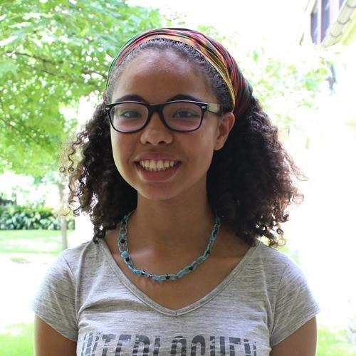 Sophomore Irene Vazquez completed the Ice Bucket Challenge August 22.