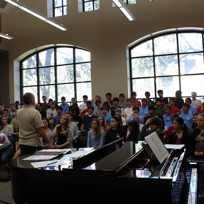 Chorale's membership increased by 17 singers this year. Other fine arts ensembles have noticed a growth in size as well.