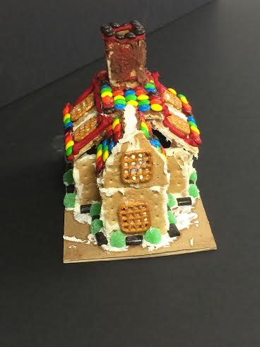 Photo gallery: Art club gingerbread houses