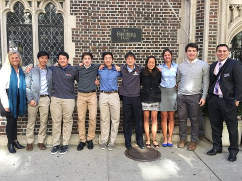 Microfinance Club attended the National High School Microfinance Summit at the Explorers Club in New York City on Oct. 11. The club has loaned over $4,700 to entrepreneurs from 86 countries.