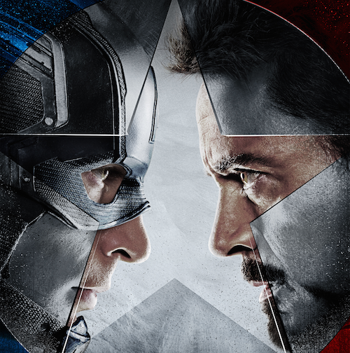 Captain America: Civil War pits Captain America against Iron Man in an ideological disagreement that splits the Avengers into two warring factions.