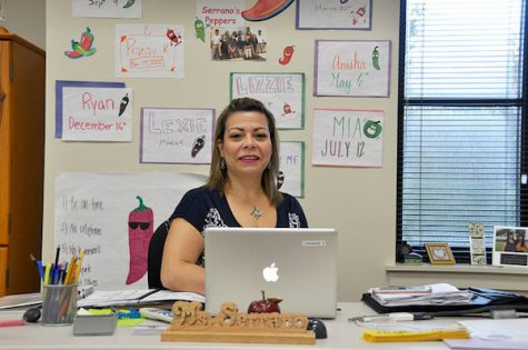 Class act: Spanish teacher Margarita Serrano