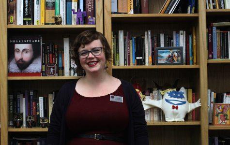 Class act: English teacher Kristiane Stapleton