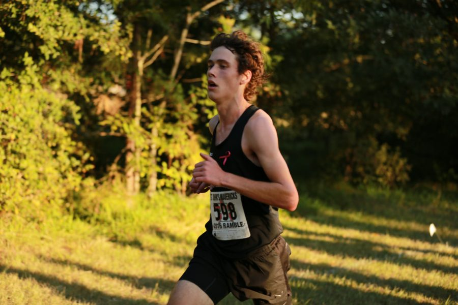 Junior Sean Jackson placed 15th at the SPC race. (Jared Margolis)
