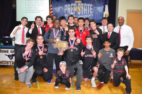 Wrestlers win state championship, make school history