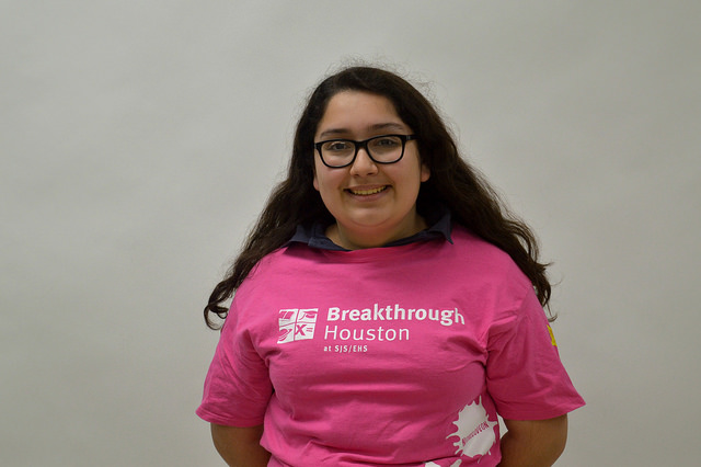 Freshman Marcela Madrid,   after completing her final year as a Breakthrough student, now teaches 7th grade English.