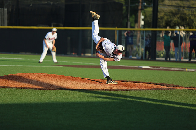 Joe+Gobillot+finishes+his+motion+after+a+pitch+against+St.+Pius.+