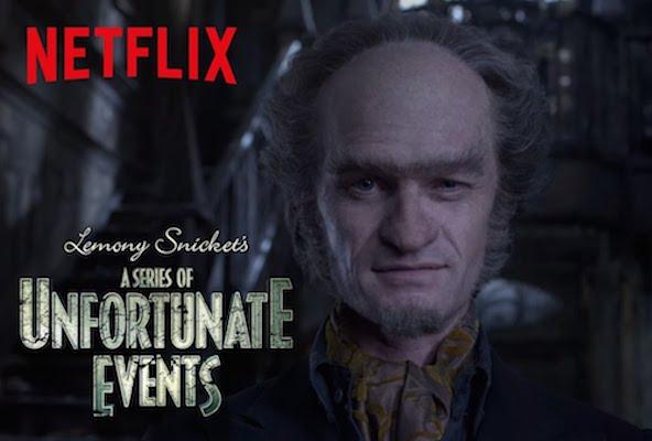 The Netflix original series stars Neil Patrick Harris as villain Count Olaf.