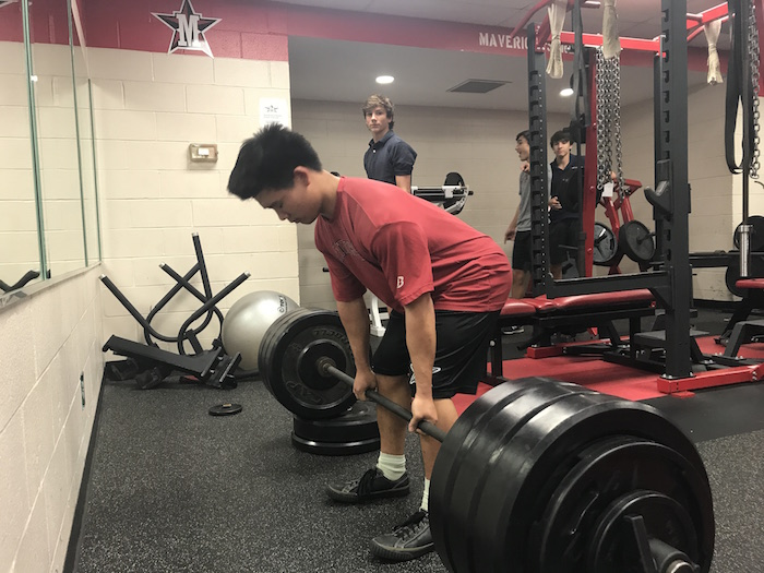 For Kang, weightlifting has led to both physical and mental growth.