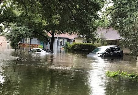 Harvey hit Houston the weekend of August 25.