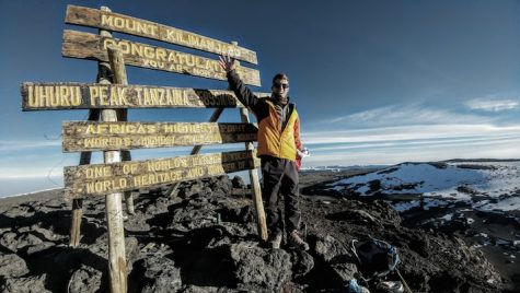 Senior conquers Mount Kilimanjaro in five-part hike