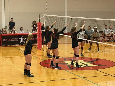 Girls' volleyball gains unexpected victory against St. Pius X