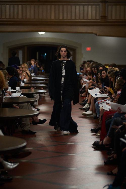 Designer Preston Boyer ('13) premieres fourth collection with on-campus runway show