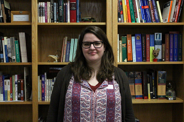 New English teacher Mary Mitchell brings a love of films and books to the school.