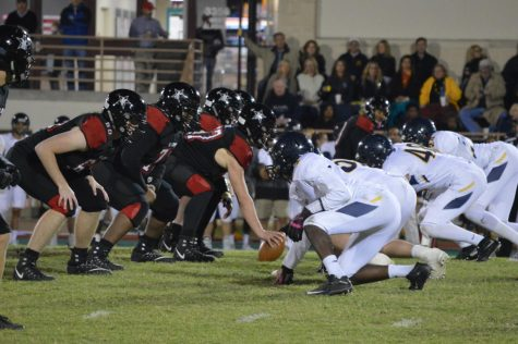 Football suffers tough loss against St. Mark's on Senior Night