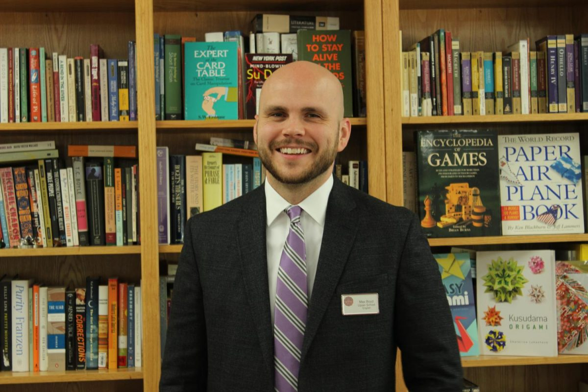 Max Boyd joined the St. John's English department this year.