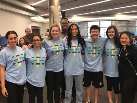 Six students travel to Anaheim with chaperones Virgil Campbell and Jamie Kim for the Student Diversity Leadership Conference.