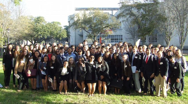 85+SJS+students+went+to+UH+for+the+forty-third+annual+Houston+Area+Model+United+Nations.