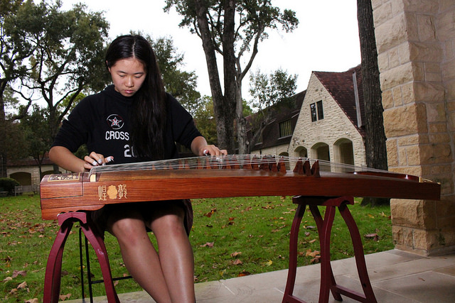 Special Music: Sabrina Hu plays the guzheng