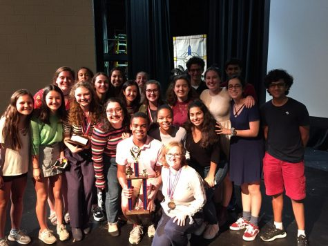 French students win first place at French Symposium