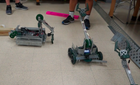 Battlebots competition engages physics students in robotics