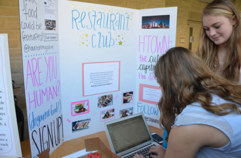 Clubs promote discussions, tasting of food