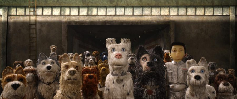 Anderson creates whimsical 'Isle of Dogs'