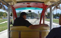 Electric carts replace school vans, help preserve environment