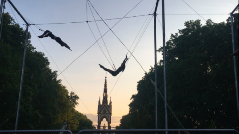 Waters sisters explore passion for trapeze