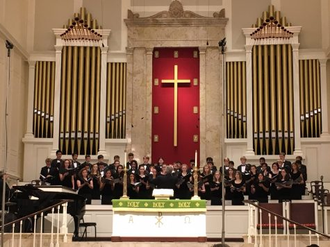 Fall choral concert showcases songs from diverse cultures