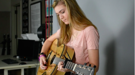 "Special Music: Izzy Andrews performs ""Pieces"""