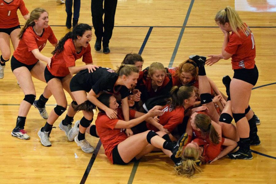 Mavericks volleyball had an emotional Saturday after defeating the Episcopal Knights, 3-1, to win their first SPC championship since 2009.  From