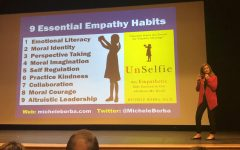 Visiting psychologist stresses importance of empathy, effects on mental health
