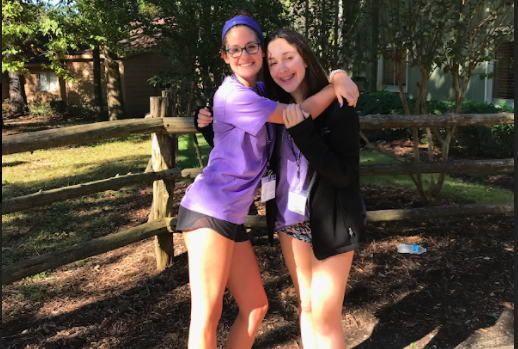 Freshmen Zoe Hirshfield and Lindsay Frankfort connected with other Jewish teenagers at the Lonestar MIT/AIT Convention.
