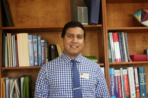 Class Act: Math teacher Rafael Contreras