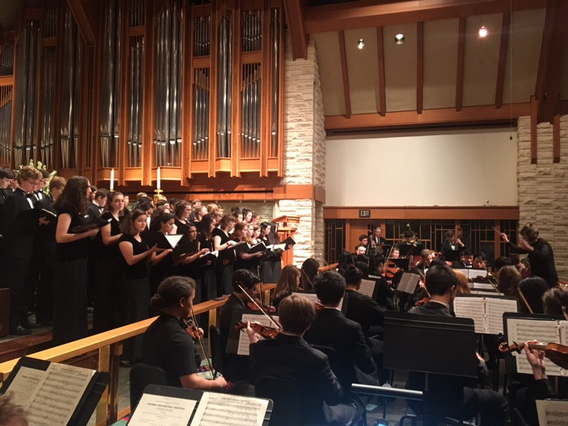 Choirs, orchestras perform at annual Choral-Orchestral Festival