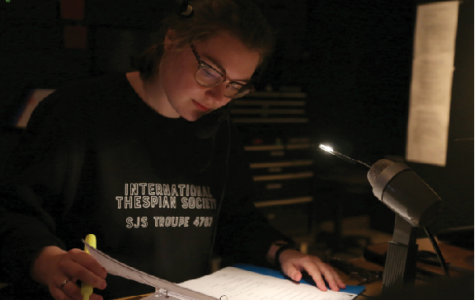 Behind the scenes, stage managers ensure show goes on